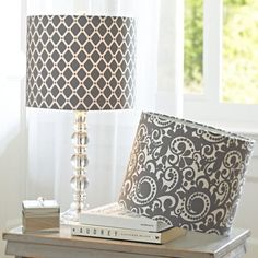 Coordinate your shade to your color scheme and add even more interest with a graphic pattern.