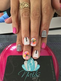 Acrylic Nails, Nails art, color nails