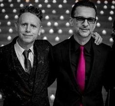 Dave Gahan and Martin Gore ❤