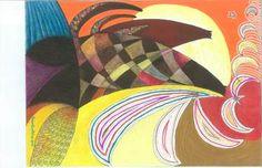 """Saatchi Online Artist daniel levy; Painting, """"cats moon"""" #art"""