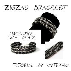 Bracelet - Zic Zac SuperDuo Twin | Craftsy