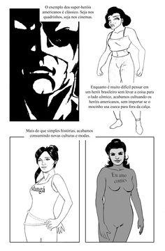 """(TCC) Quadrinhos Nacionais: Uma Perspectiva Estrangeira (UNIVAP), """"preview"""" de Carlos Campos PG08"""