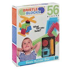 Battat Bristle Blocks Set Toy (56 Pieces)