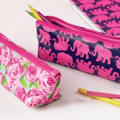 Lilly Pulitzer Pencil Pouch - Coming to Stella's gift boutique