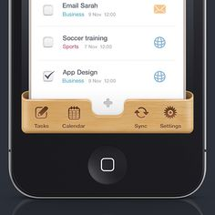 iOS is a mobile operating system developed and distributed by Apple Inc. The user interface, is the industrial design field of human–machine interaction. iOS is App Ui Design, Iphone App Design, News Web Design, Mobile Ui Design, User Interface Design, Menu Design, Layout Design, Menu Web, Iphone Ui