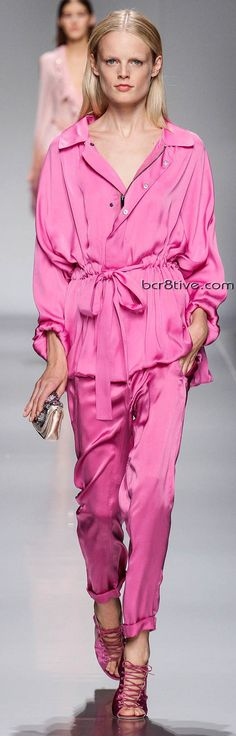 Blumarine  Spring Summer 2013 Ready-To-Wear Collection... All over Pink! ♥