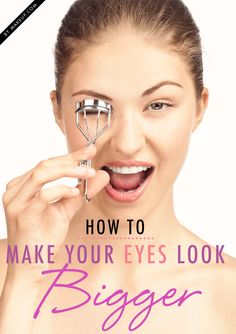 Open your eyes! This 1 minute makeover will make your eyes look bigger and bolder.