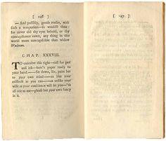 Tumba de Yorick, el bufón de poca memoria, en Vida y opiniones del caballero Tristram Shandy.