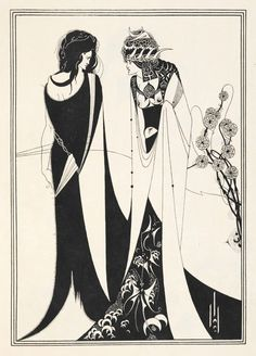 Aubrey Beardsley, John and Salome (1907)