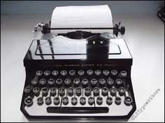 Hey, I found this really awesome Etsy listing at https://www.etsy.com/listing/223084368/adler-favorit-typewriter-black-vintage