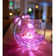 Use our pink submersibles. http://www.bluedottrading.com/led-tea-lights/submersible-led-tea-lights.html
