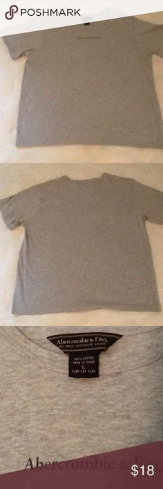 Abercrombie Tee NWOT Soft, never worn! Large but appears to fit more like a medium. Abercrombie & Fitch Tops Tees - Short Sleeve