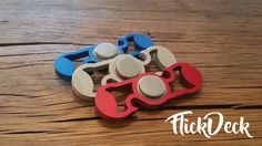 FlickDeck: Fidget spinner and bottle opener project video thumbnail