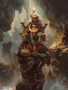Turiel, Angel of the Mountain – fantasy character concept by Peter Mohrbacher; more info about this angel here Fantasy Creatures, Mythical Creatures, Peter Mohrbacher, Lord Shiva Painting, Bild Tattoos, Angels And Demons, Fallen Angels, Creature Concept, Fantasy Inspiration