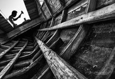 Phinisi boat maker - Alamsyah Rauf