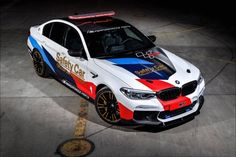 2018 BMW M5 reports for MotoGP safety car duty