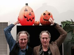 The Quay Brothers wish you a Happy Halloween straight from our Film/Video Studio where they're putting the finishing touches on their newest short film (which world premieres here 11/2).
