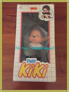 Le Petit Kiki Vintage Neuf dans sa Boite d'origine, kiki le vrai, kiki de tous les kiki, ajena, vintage, jouet