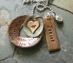 Personalized Hand Stamped Horse by EquineExpressionsbyD on Etsy, $60.00
