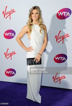 Eugenie Bouchard attends the annual WTA Pre-Wimbledon Party presented by Dubai Duty Free at The Roof Gardens, Kensington on June 25, 2015 in London, England.