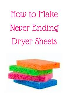 How to Make Never Ending Dryer Sheets!! Craft Projects For Kids, Craft Ideas, Diy Crafts For Kids, Home Crafts, Sell Diy, Diy Crafts To Sell, Diy Home Decor Bedroom, Living Room Decor, Diy Home Decor On A Budget