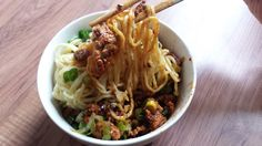 Our step by step recipe for Szechuan Noodles with Chili Oil! You'll want to eat these all day, every day, especially if you love spicy food!