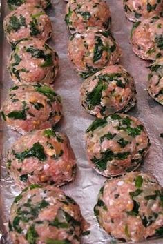 One of my kids favorites!! Turkey and Spinach meatballs- These are actually HEALTHY MEATBALLS that are equally delicious.