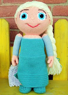 letsjustgethooking : FREE PATTERN  Ice Queen - Kid Character  DISCLAIM...