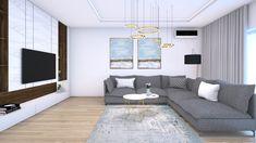 Novostavba na Kolibe ponúkla veľkorysých 50m² dennej časti na vytvorenie moderného interiéru s viacerými zónami. Obývacia časť je minimalistická s rohovou šedou sedačkou, zlatými doplnkami a nábytkovým solitérom s luxusnou mramorovou doskou dizajnovanou na mieru. #avedesign #interierovydesign #interier #navrhinterieru #navrhkuchyne #interior #interiorforinspo #vizualization #bratislava #diningroomideas #dining #jedalen #instahome #koliba #homeinspiration #interiorinspiration #modernhome Small Apartment Kitchen, Small Apartments, Kitchen Decor, Couch, Furniture, Home Decor, Settee, Decoration Home, Small Flats