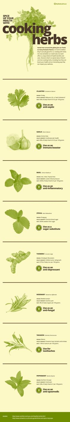 Great tips on herbs used as herbal remedies for a variety of ailments.