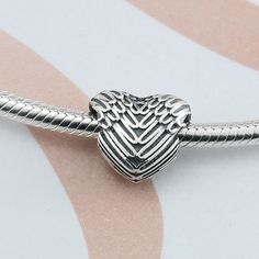 Pandora Vintage Angel Wing Heart Charms Only $10