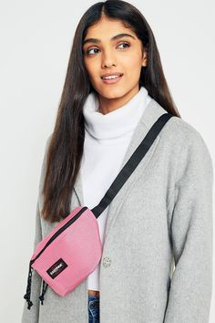 Shop Eastpak Coupled Pink Springer Bum Bag at Urban Outfitters today. We carry all the latest styles, colours and brands for you to choose from right here.