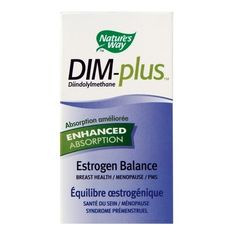 Nature\'s Way DIM-Plus- hormonal benefits