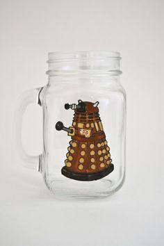 Toasted Glass - Dalek Drinking Jar