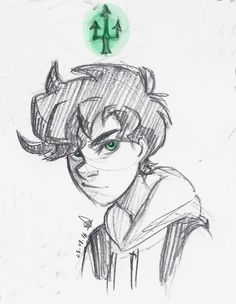 Percy Jackson... Almost looks like Nico...