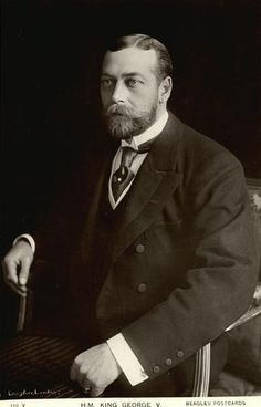 King George V, Queen Elizabeth's grandfather