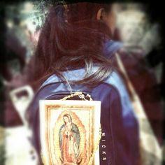 Pilgrimage to see La Virgen de Guadalupe at Mexico City.