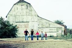 Family pictures on the farm @Jessica LaFreniere can't wait!