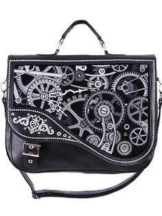 Superbe sac à main gothique romantique - Élégance, raffinement et originalité sont au rendez-vous