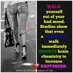 10 MINUTE walk immediately BOOSTS brain - Love, Fun and Romance