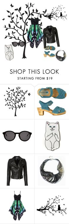 """nhikbnkbnk"" by goca-n ❤ liked on Polyvore featuring Godinger, Toast, Thierry Lasry, RIPNDIP, IRO and Ware"
