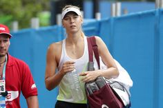 Maria Sharapova Australian Open: Day 2