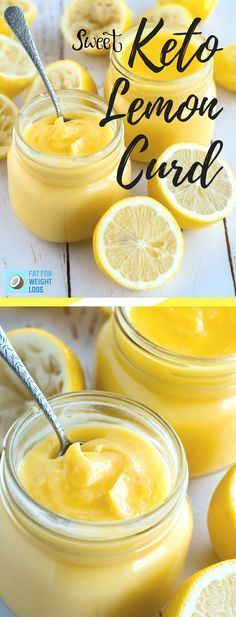 The perfect keto-lemon quark tastes good on its own. This keto-lemon curd is also great as a spread for keto toast, keto scones or as a sandwich with a keto sponge cake. It's a perfect gift for a friend (even if it's not a keto). Keto Desserts, Keto Snacks, Dessert Recipes, Keto Sweet Snacks, Paleo Treats, Cookbook Recipes, Keto Fat, Low Carb Diet, Keto Carbs