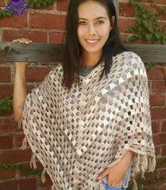 Crochet-Timeless-Boho-Poncho.jpg (720×825)