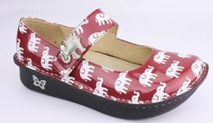 Alegria  Elephant shoes $89.99 Roll Tide shoes