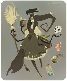 Witchsona on Behance
