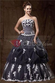 Nice Ball Gown Strapless Floor-Length Sandra's Ball Gown/ Quinceanera Dress