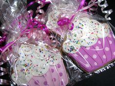 Gorgeous cupcake cookies #cupcake #cookies