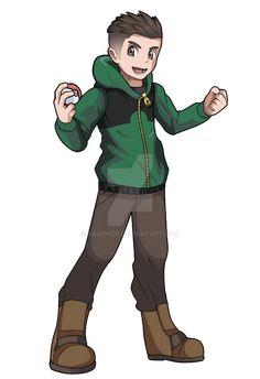 Pokemon Avatar, Pokemon Rpg, Pokemon Manga, Pokemon Trainer Outfits, Pokemon Trainer Costume, Fanarts Anime, Anime Characters, Rpg Maker, Pokemon Breeder
