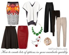 How to create lots of new outfits from your own wardrobe quickly   40plusstyle.com